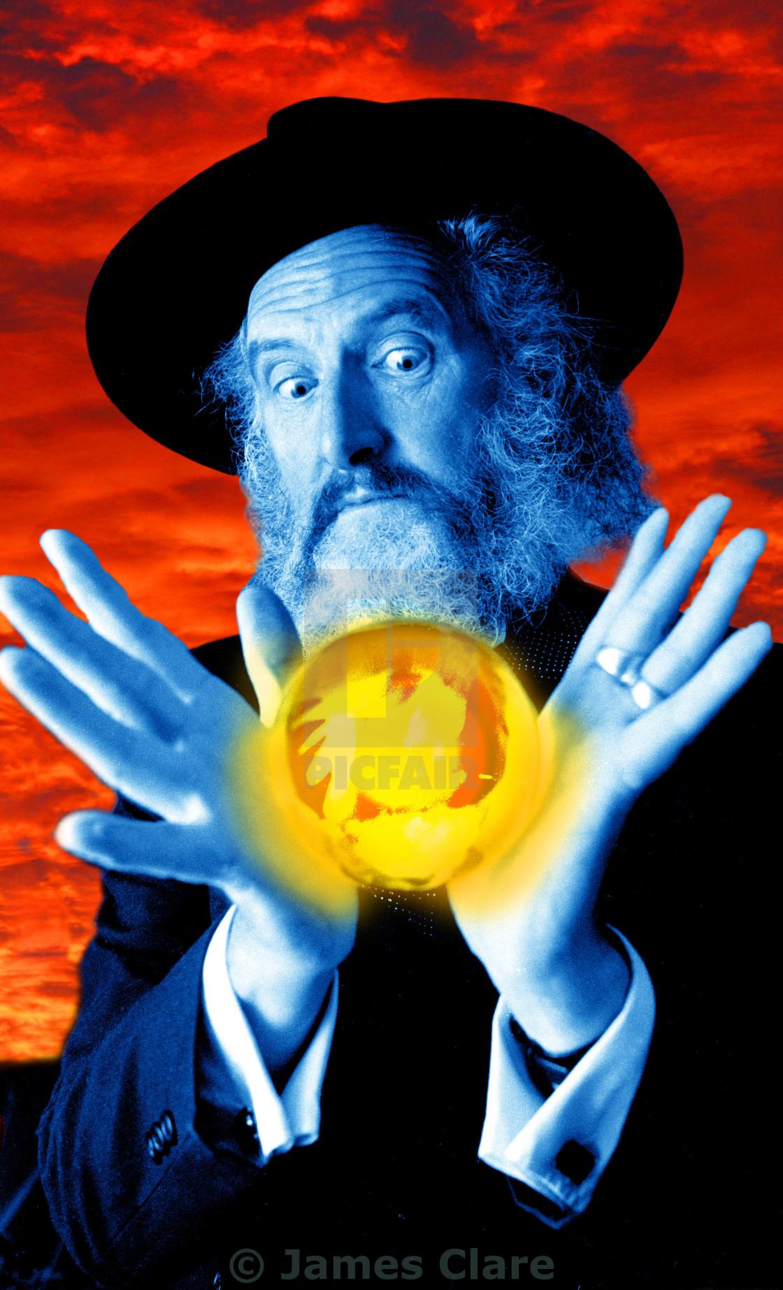 """""""Crystal Ball"""" stock image"""