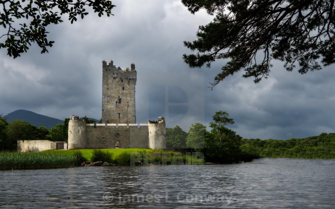 """Irish Castle"" stock image"