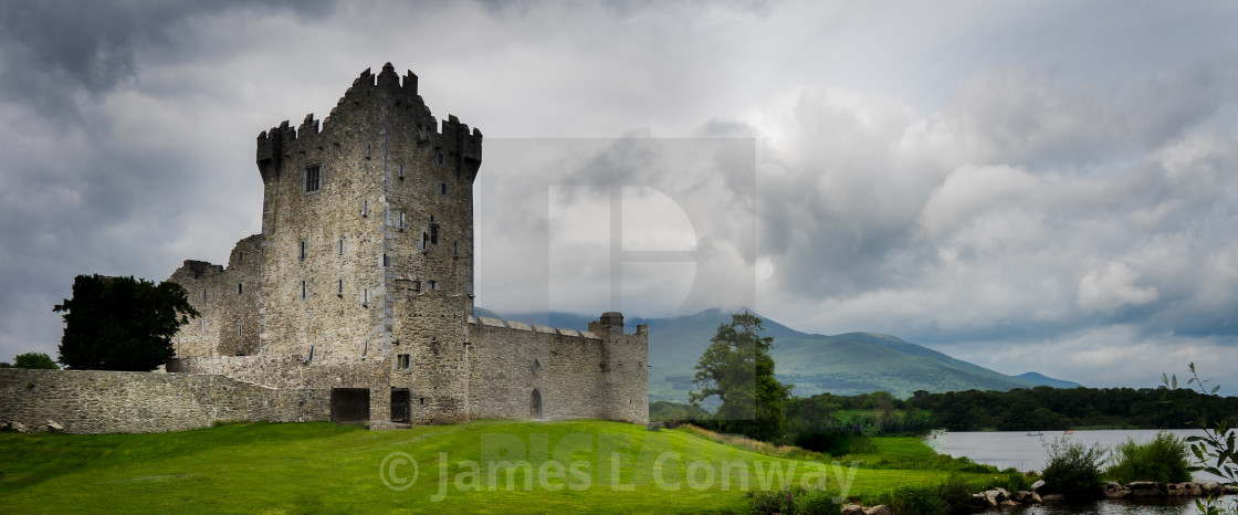 """Castle in Ireland"" stock image"