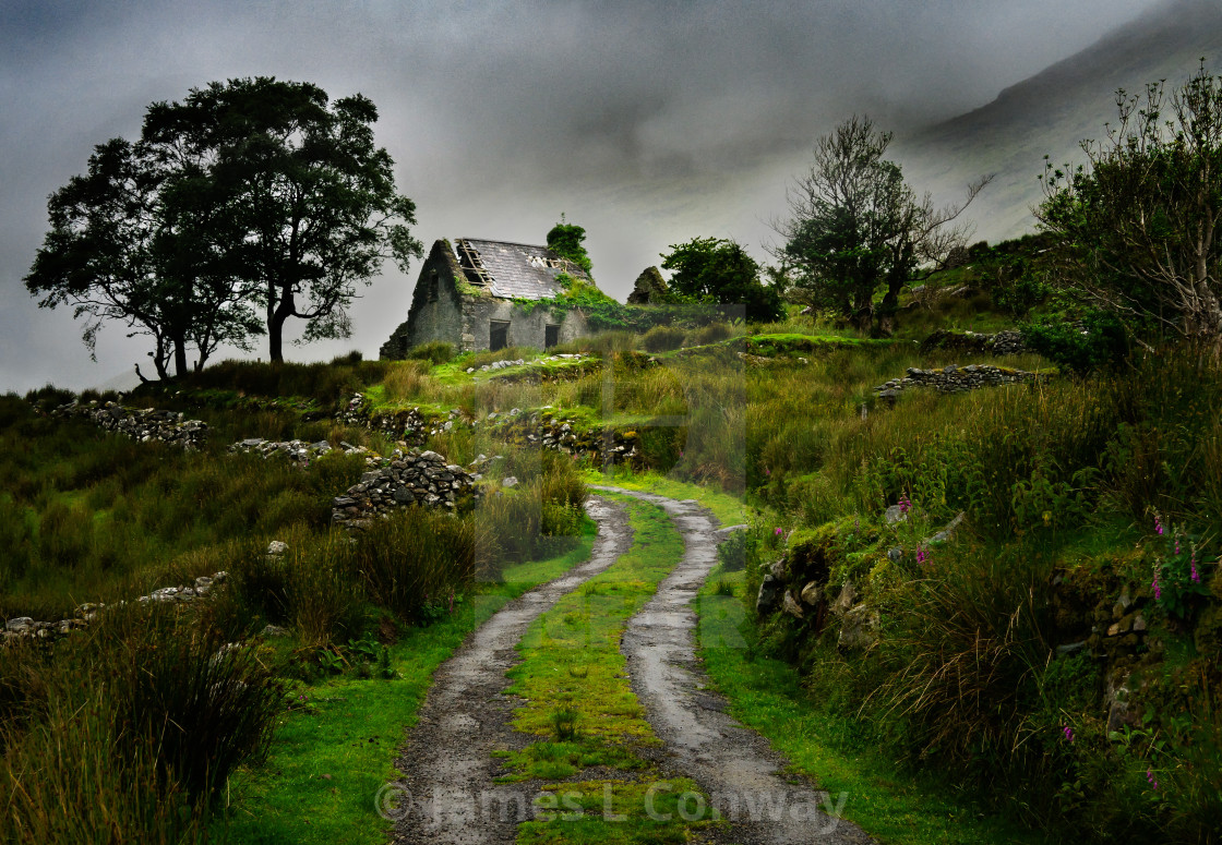 """Fairytale Cottage"" stock image"