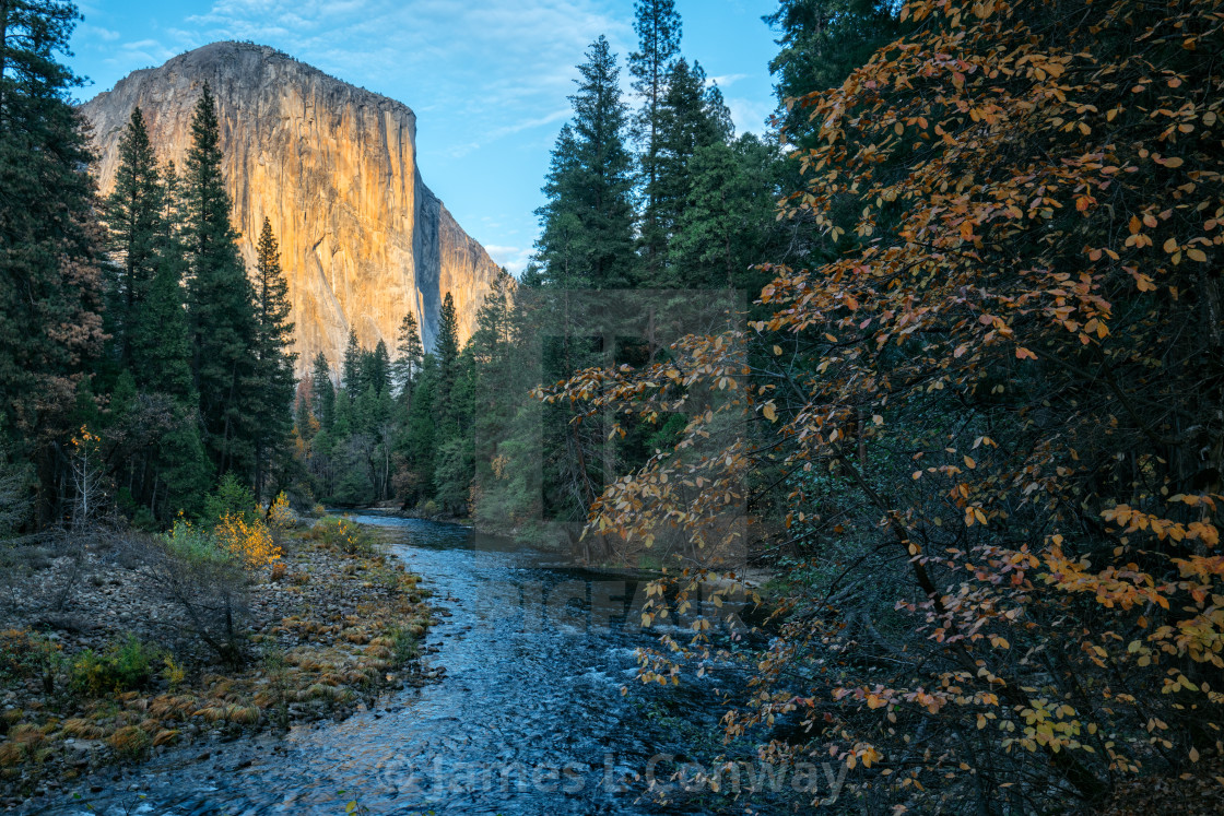 """Autumn in Yosemite"" stock image"