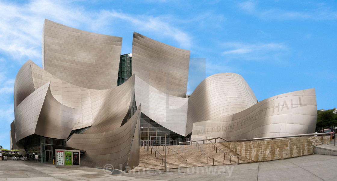 """Disney Concert Hall"" stock image"