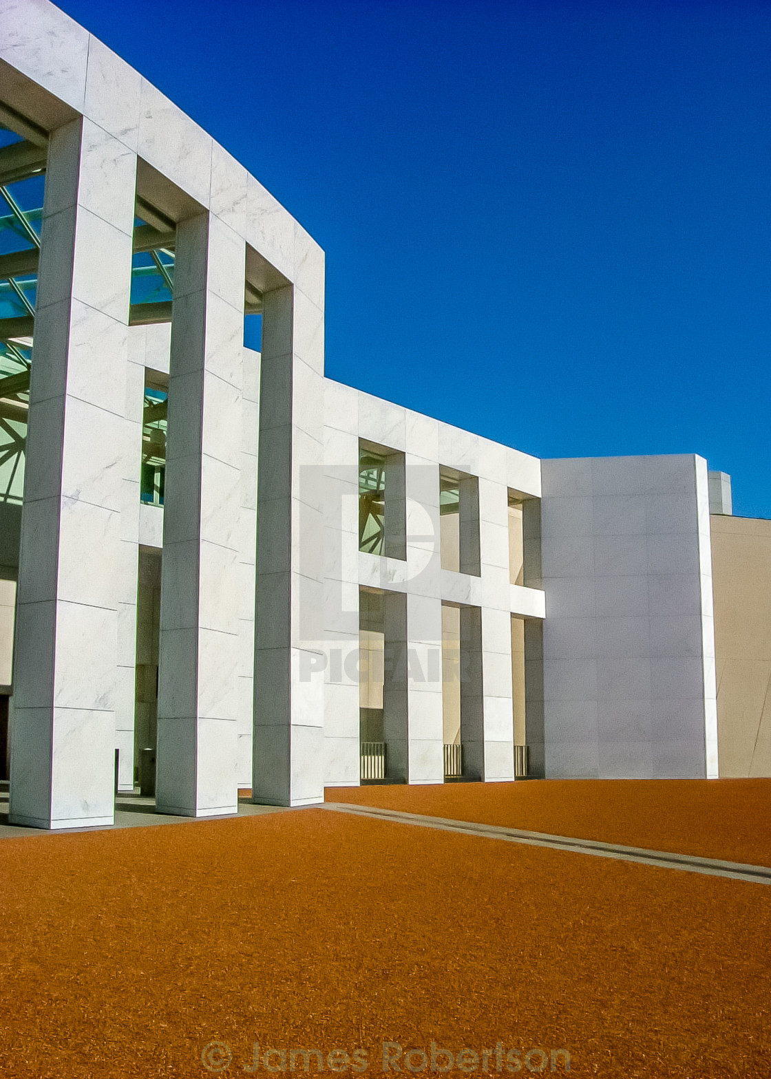 """""""Parliament House, Canberra"""" stock image"""