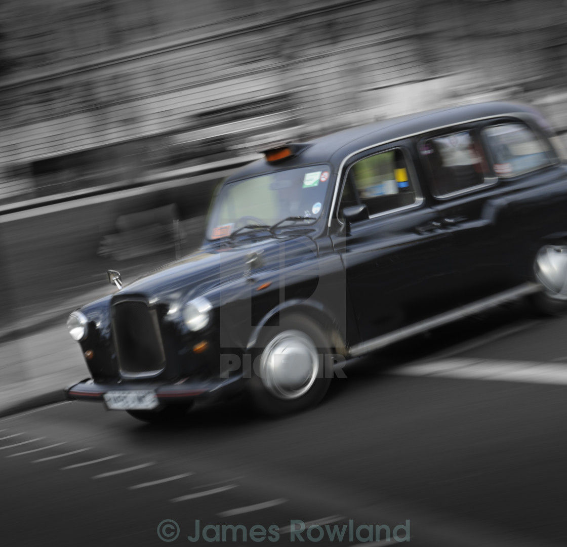 """London Taxi"" stock image"