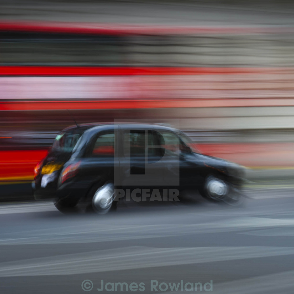 """""""Taxi Ride"""" stock image"""