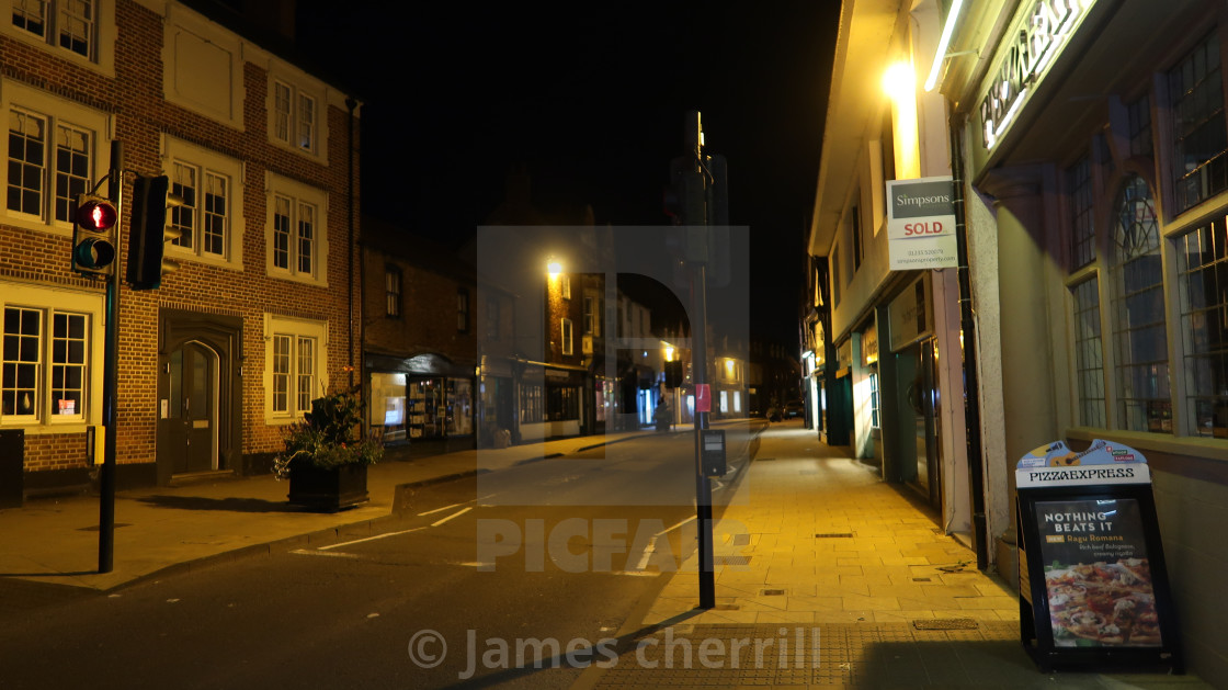 Abingdon At Night License Download Or Print For 150
