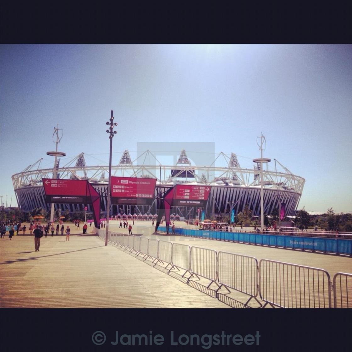 """London 2012 Olympic Park"" stock image"