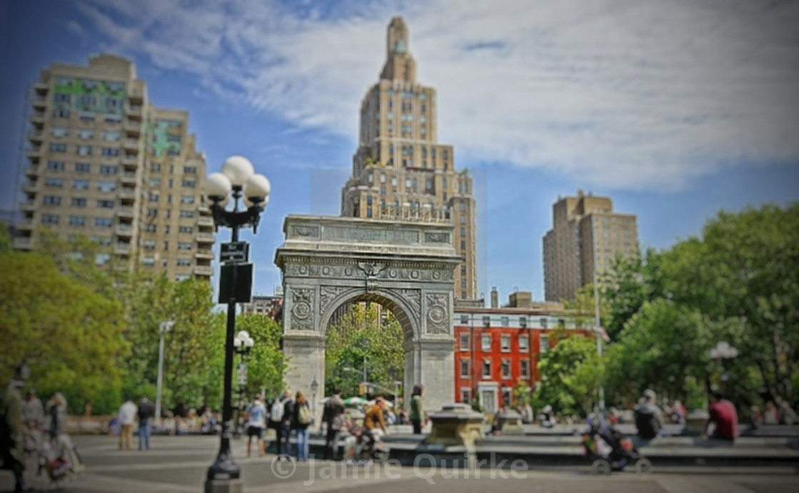 """Washington Square Park, NYC"" stock image"