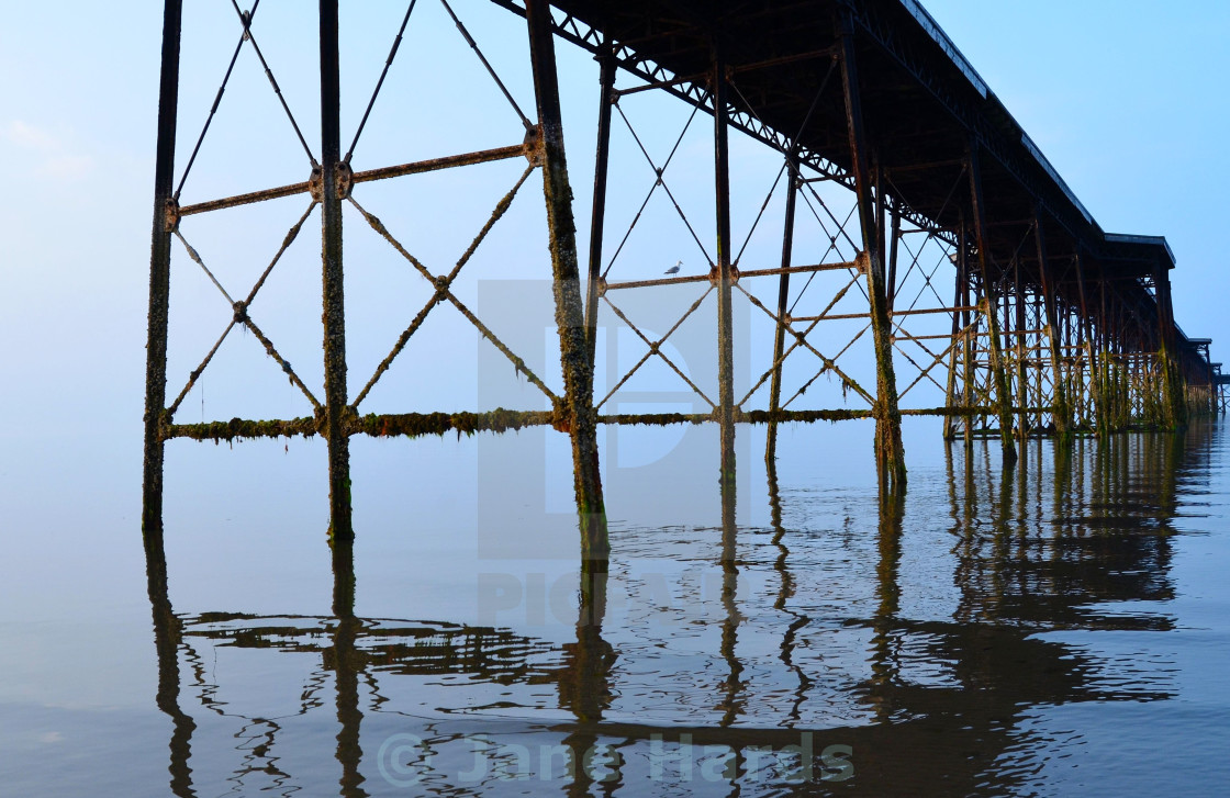 """""""Floating pier"""" stock image"""