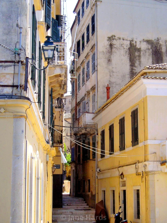 """Sunny Corfu"" stock image"