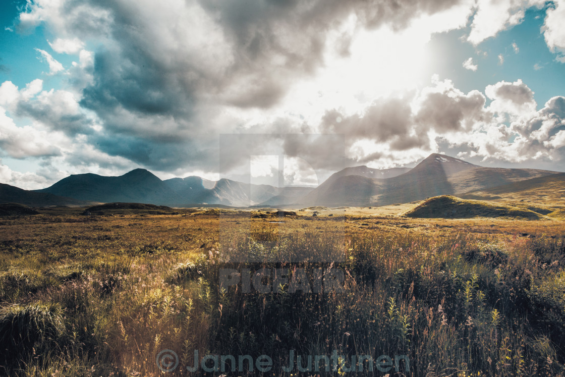 """The awesome Glen Coe - Scotland"" stock image"