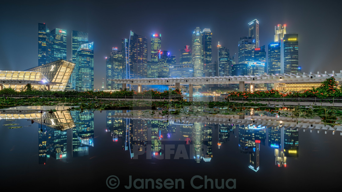 """Reflections of A City"" stock image"