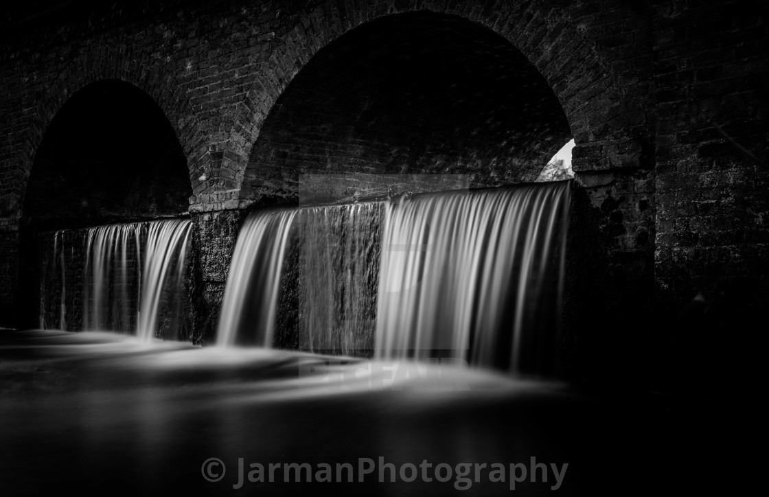 """Water Under the Bridge"" stock image"