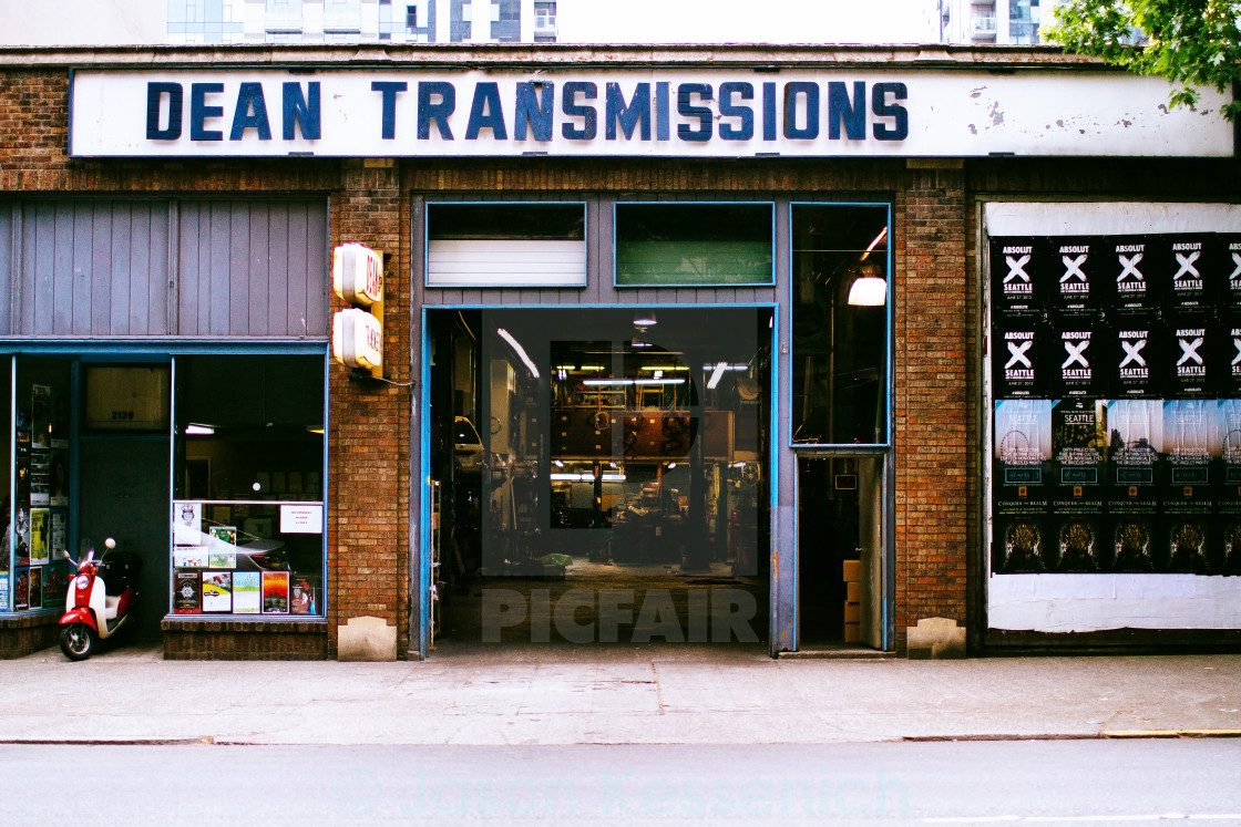 """""""Dean Transmissions"""" stock image"""