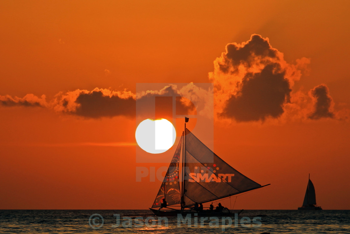 """Smart Sunset"" stock image"