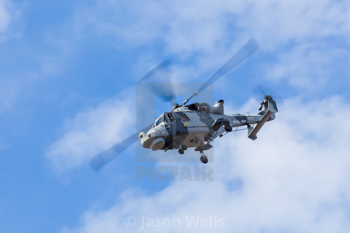 """Royal Navy Wildcat"" stock image"