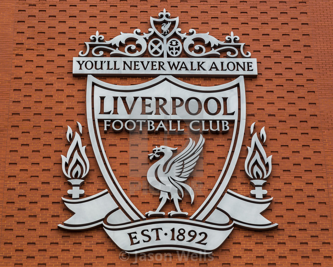 Liverpool FC club crest - License, download or print for £9.99 | Photos | Picfair