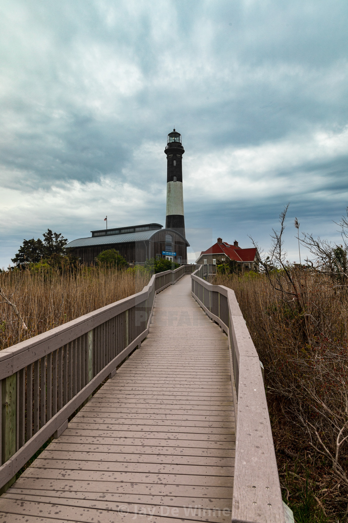 """Fire Island Lighthouse"" stock image"