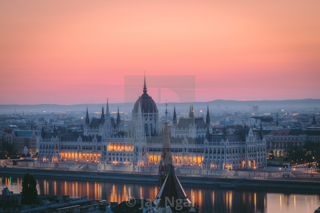 """Hungarian Parliament Building"" stock image"