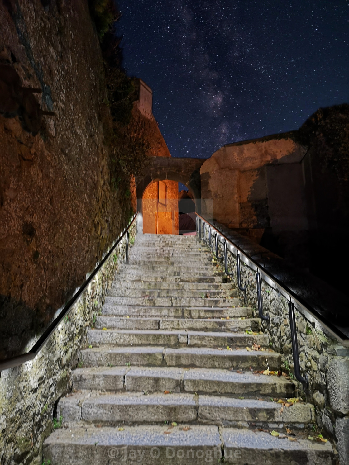 """Stairway to the heavens"" stock image"