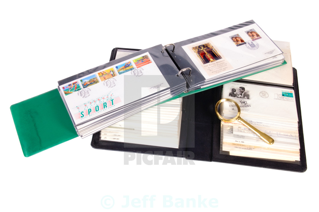Stamp collecting - License, download or print for £6 20   Photos
