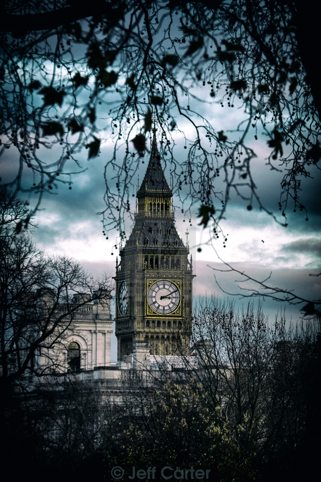"""Elizabeth Tower (Big Ben) - London"" stock image"