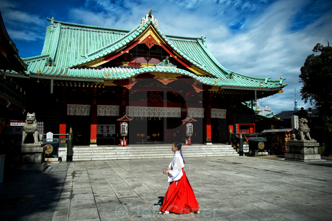 """Kanda Myojin Shrine"" stock image"