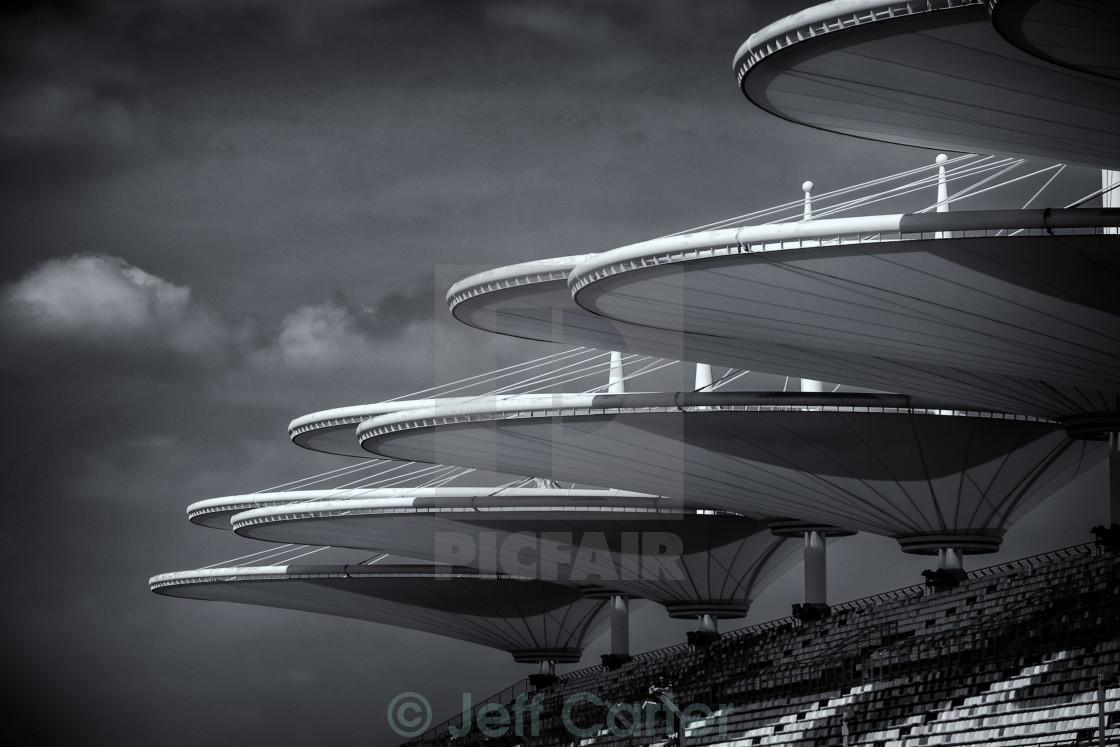 """Shanghai International Circuit"" stock image"