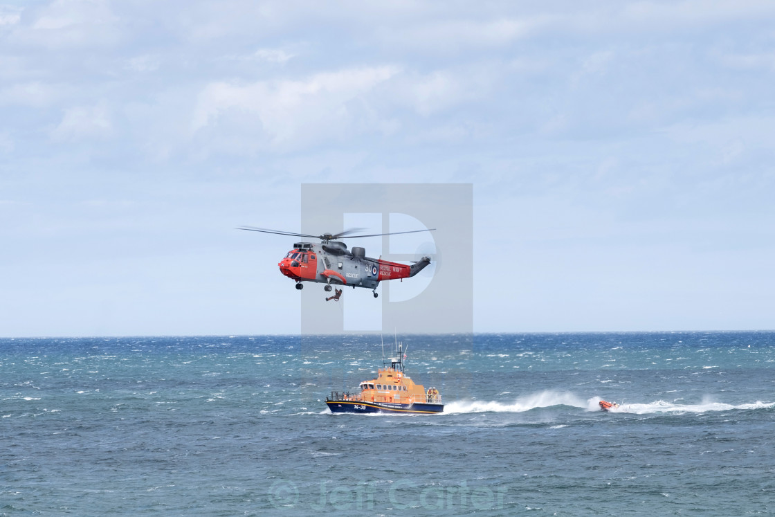 """Lifeboat Exercise"" stock image"