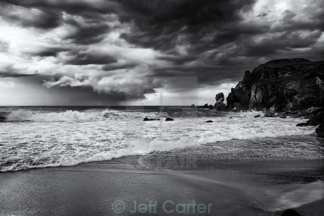 """Approaching Storm"" stock image"