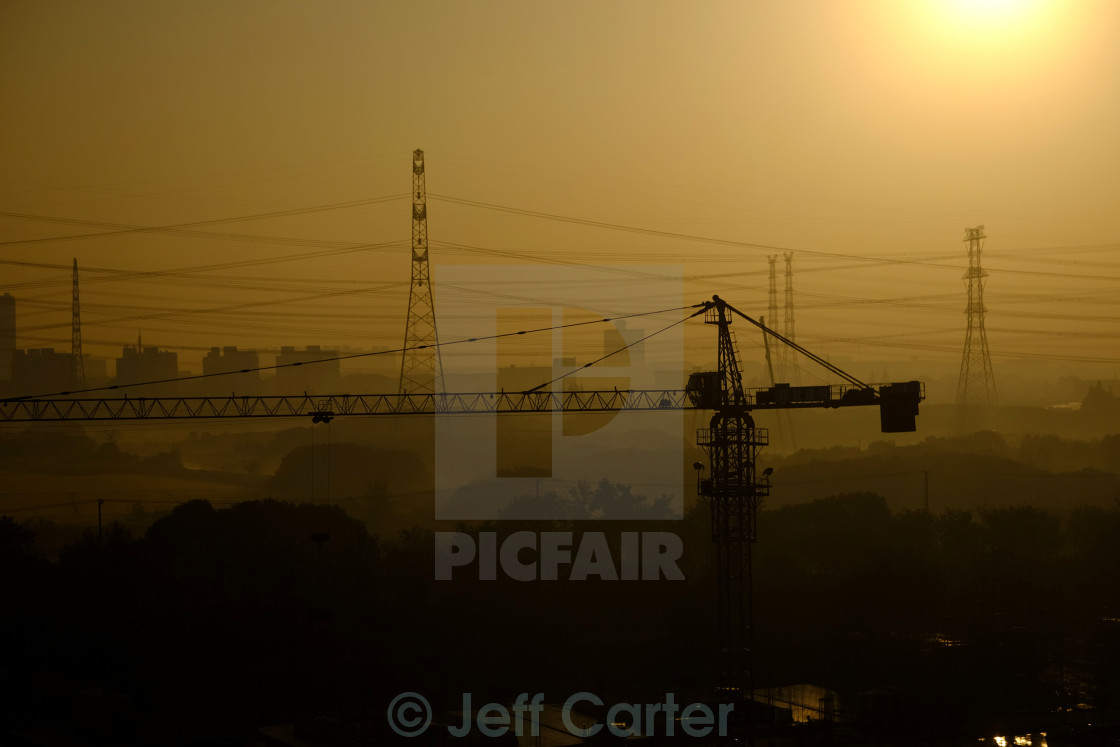 """Building Site"" stock image"