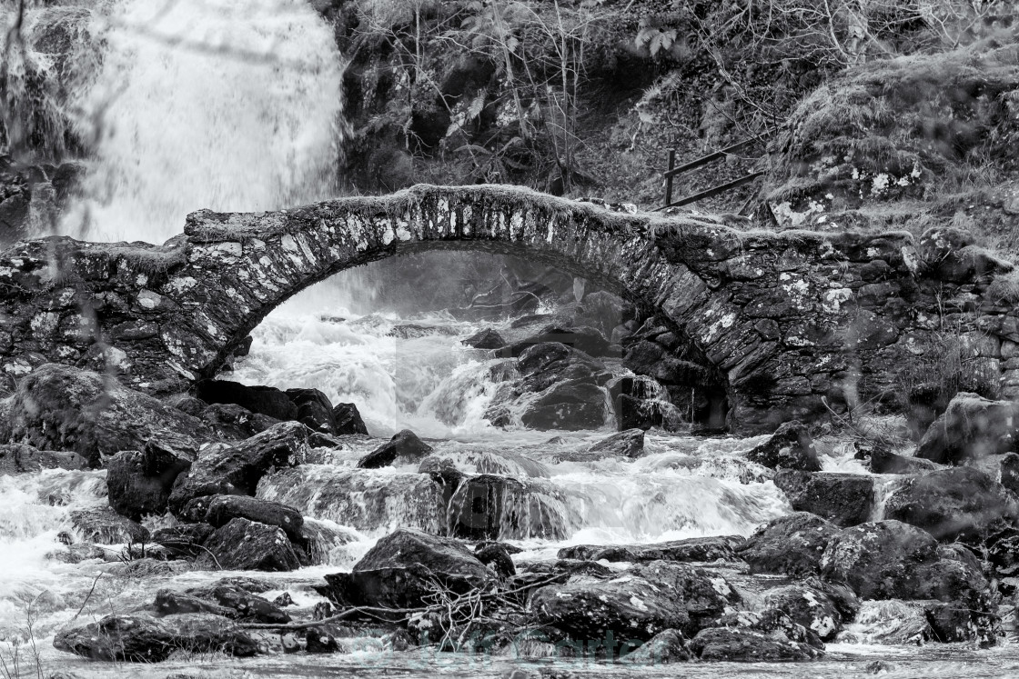 """Old Stone Bridge"" stock image"
