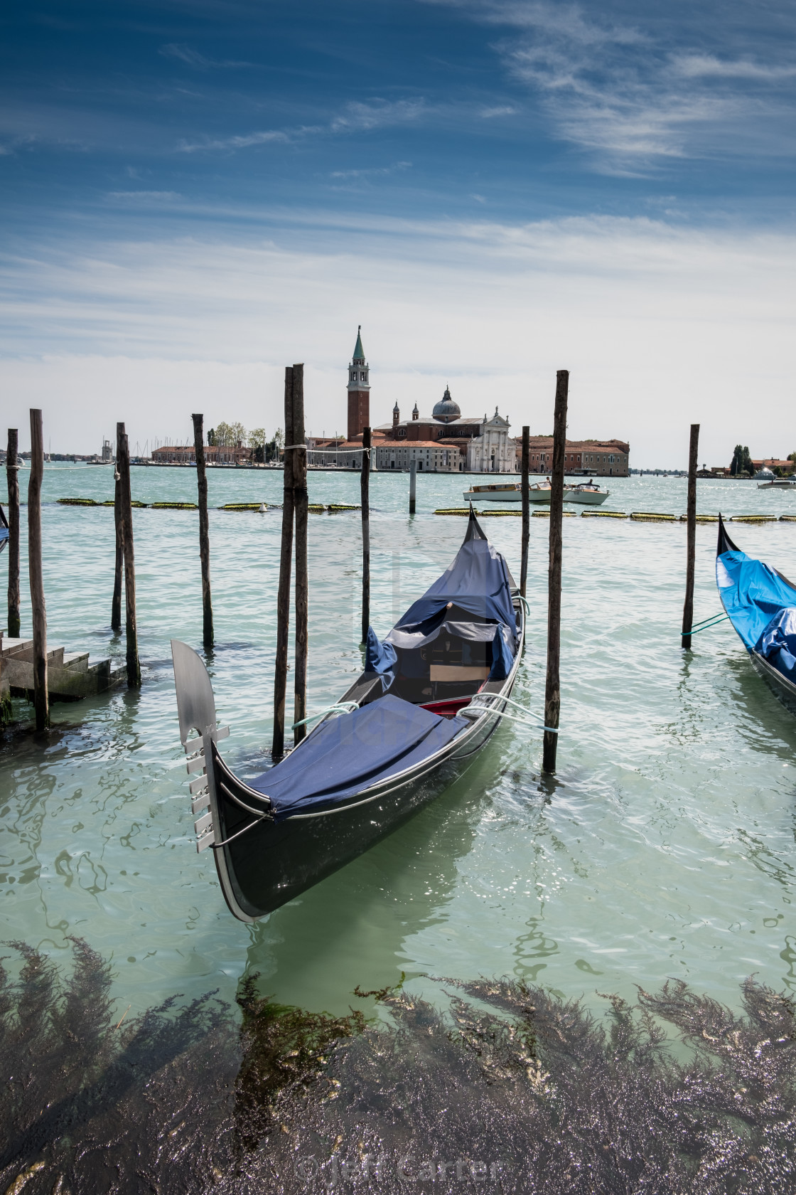 """Venice Water Front"" stock image"