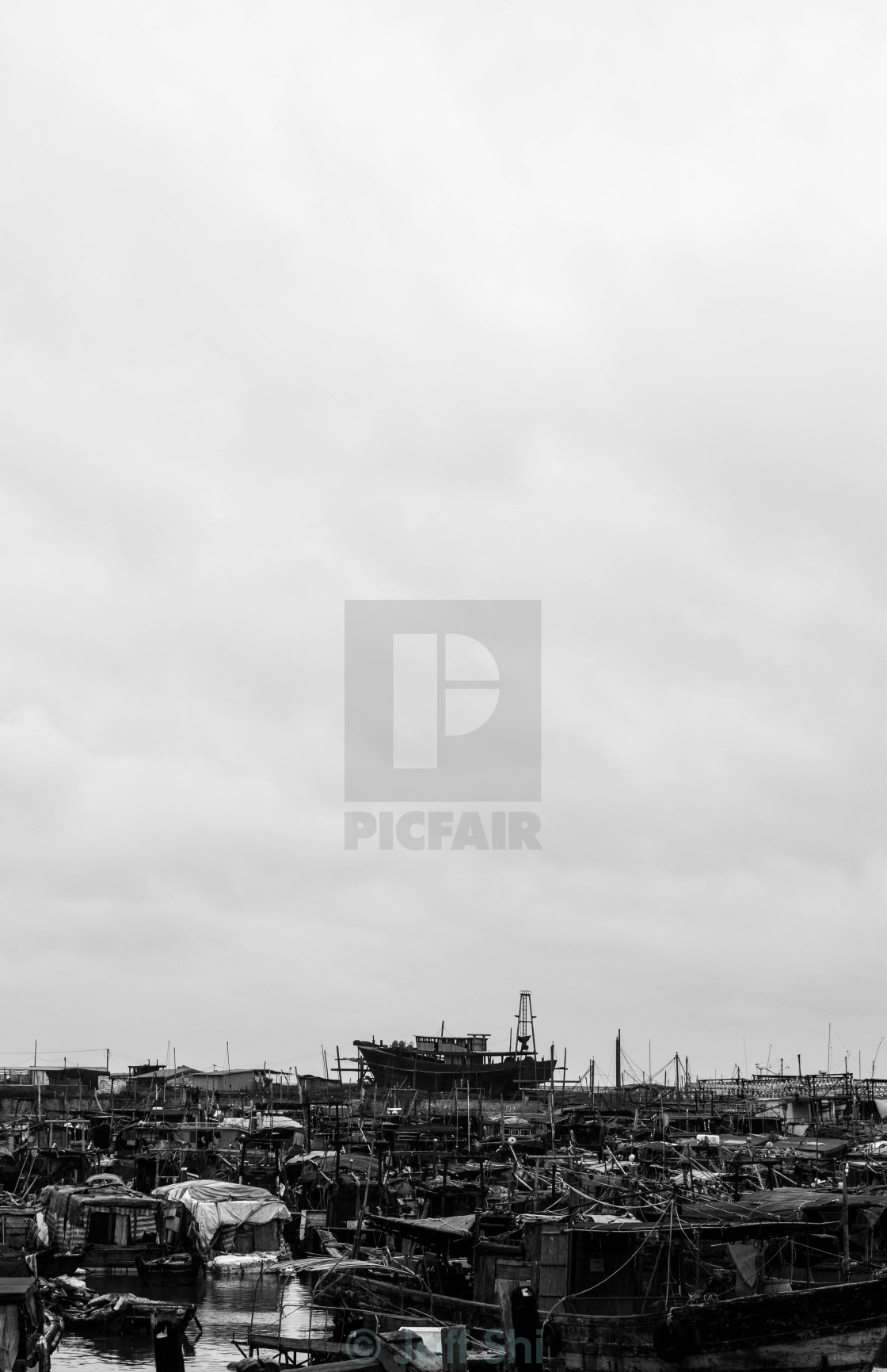 """Boats and Ships"" stock image"