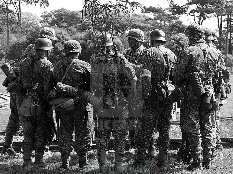 """German Soldiers"" stock image"