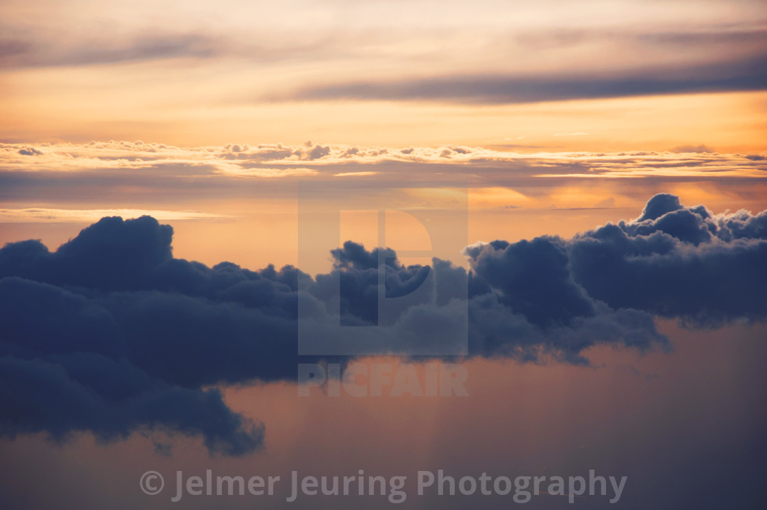 """Cloud painting"" stock image"