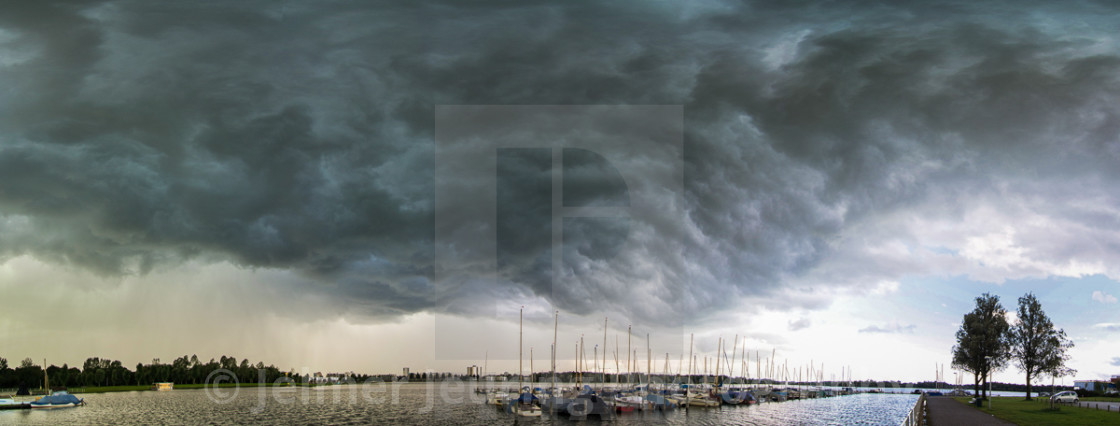 """""""The awesomeness of clouds"""" stock image"""