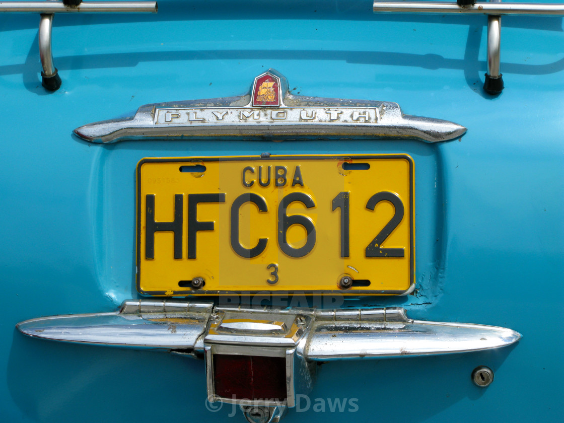 """Cuban Car"" stock image"