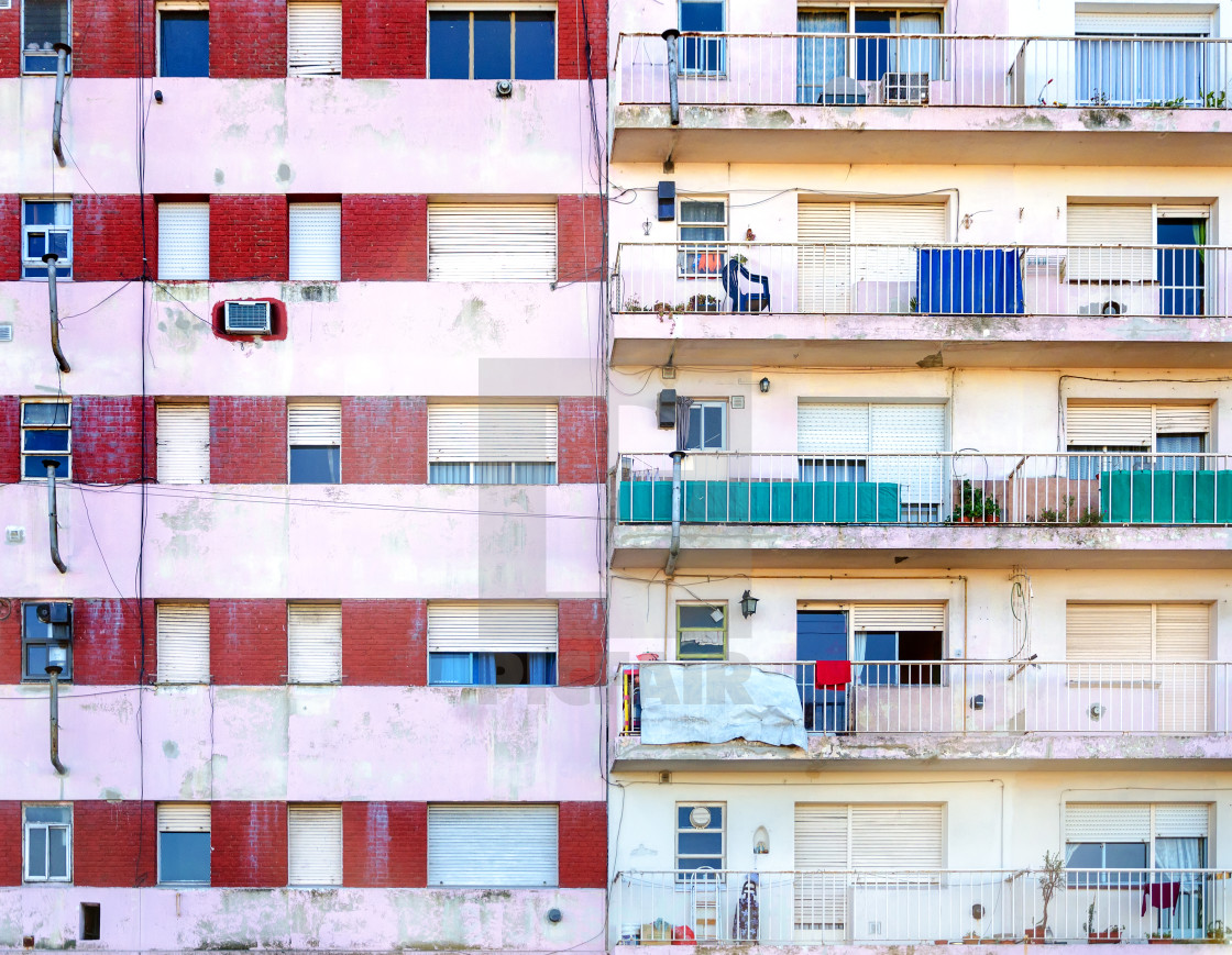 """Apartment Building Facade"" stock image"
