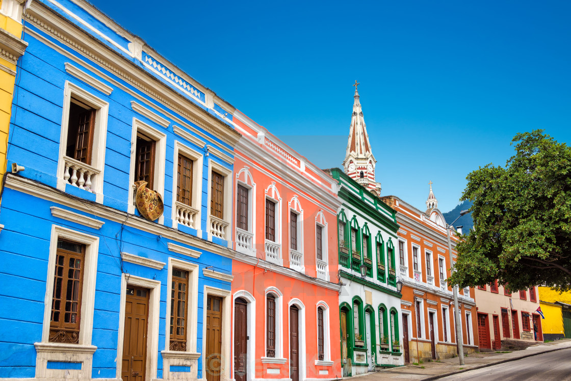 """""""Colorful Facades"""" stock image"""