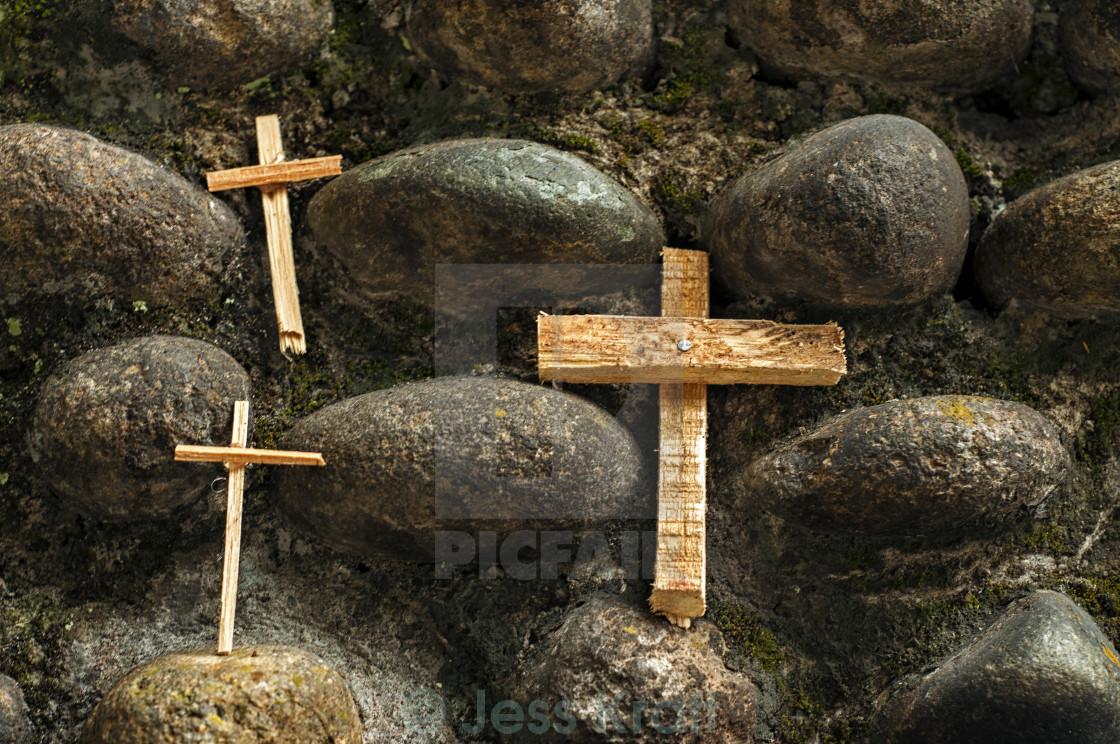 """""""Three Crosses"""" stock image"""