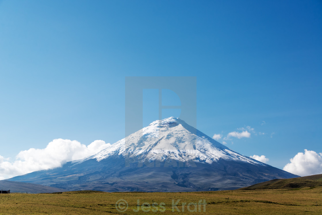 """Cotopaxi Volcano"" stock image"