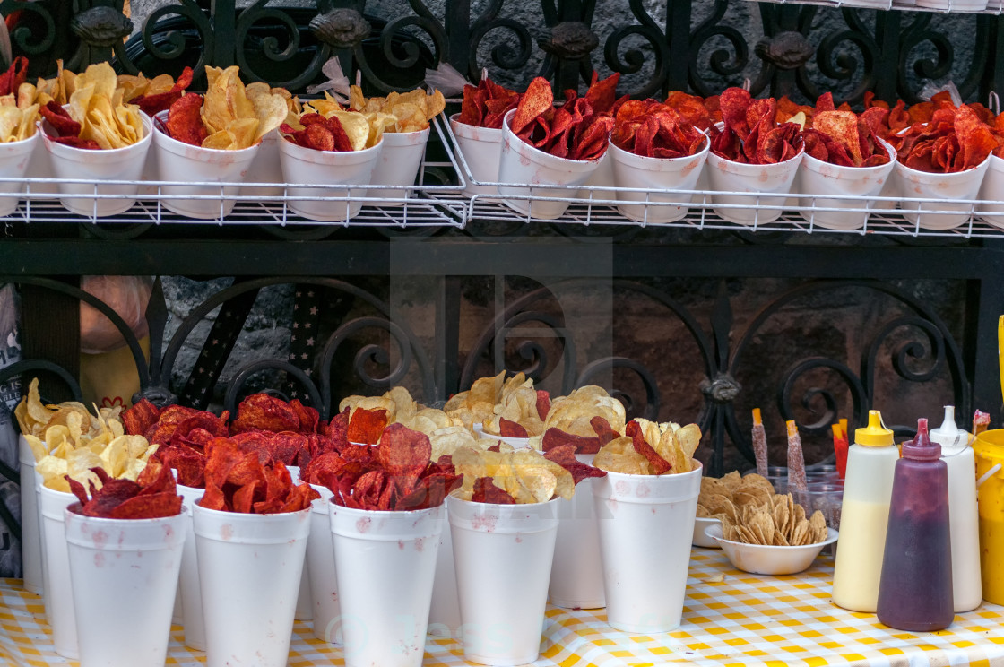 """Mexico City Street Food"" stock image"