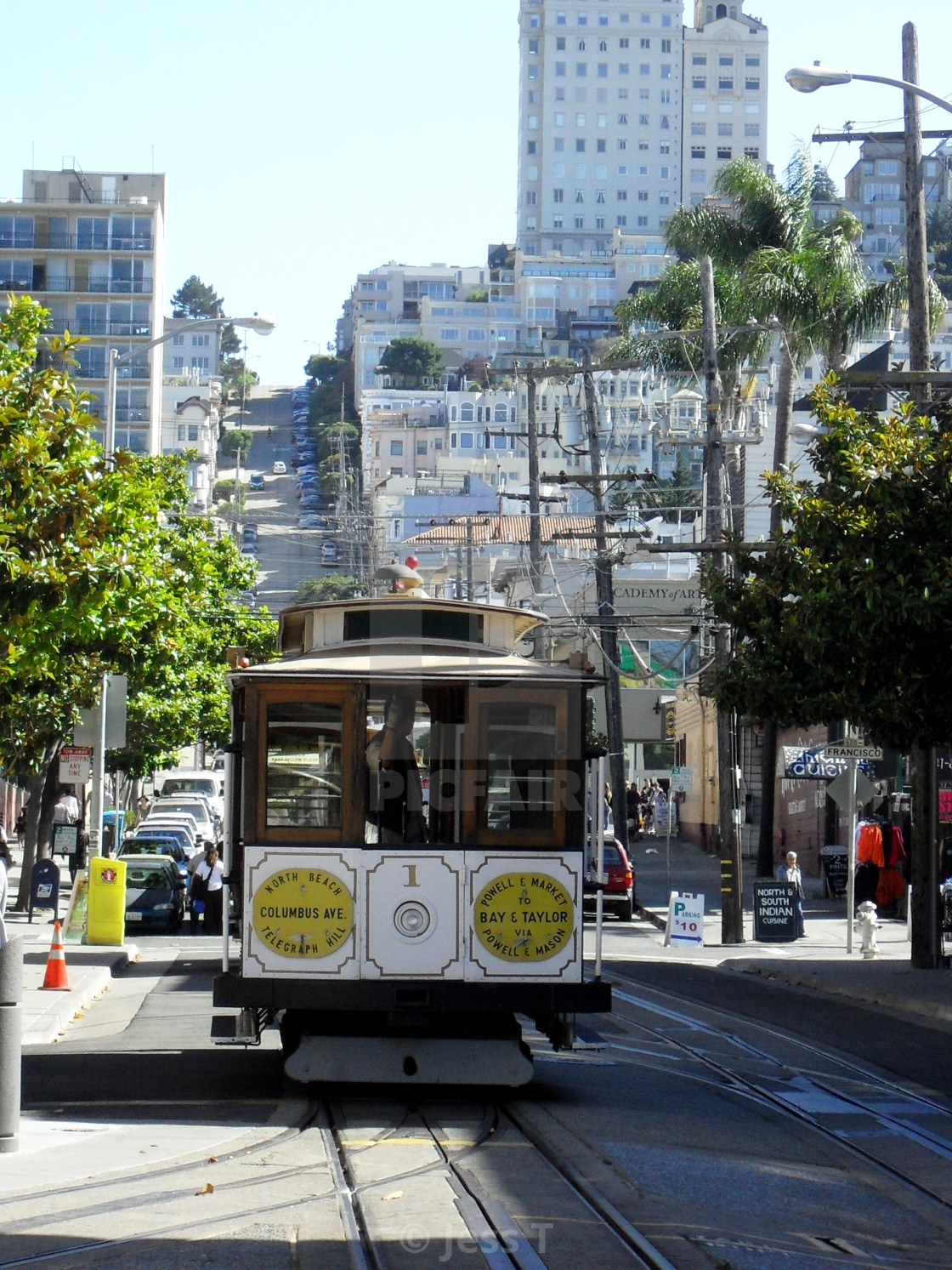 San Francisco Cable Car License Download Or Print For 7 44