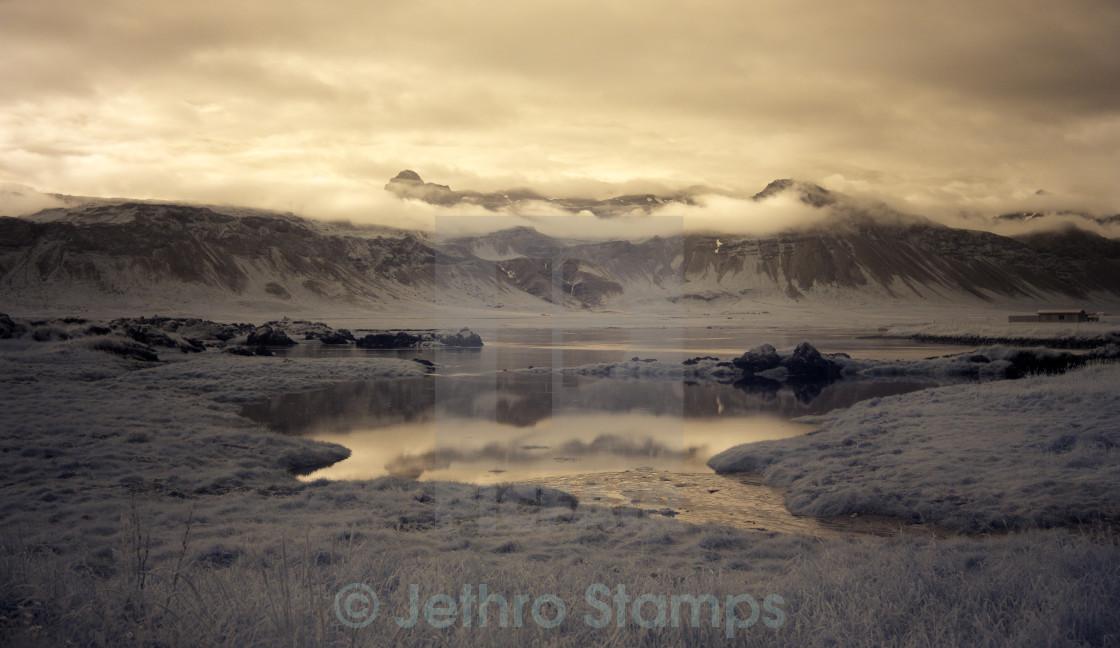"""""""Búðir Landscape"""" stock image"""