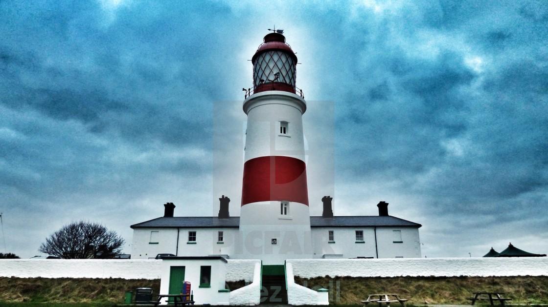 """Lighthouse Sauter"" stock image"