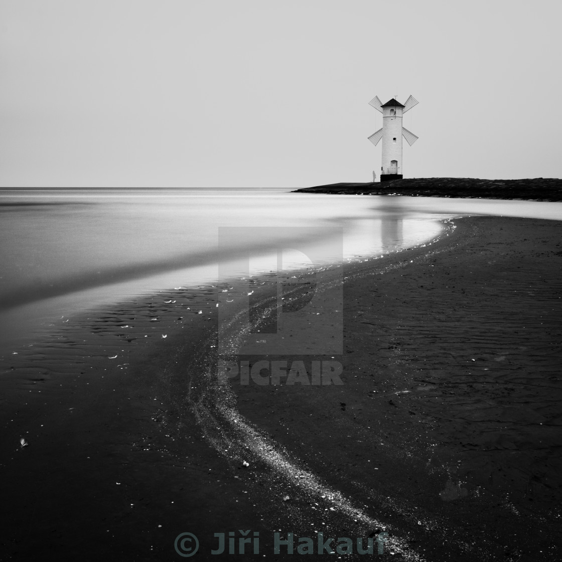 """Baltic coast - Lighthouse II"" stock image"