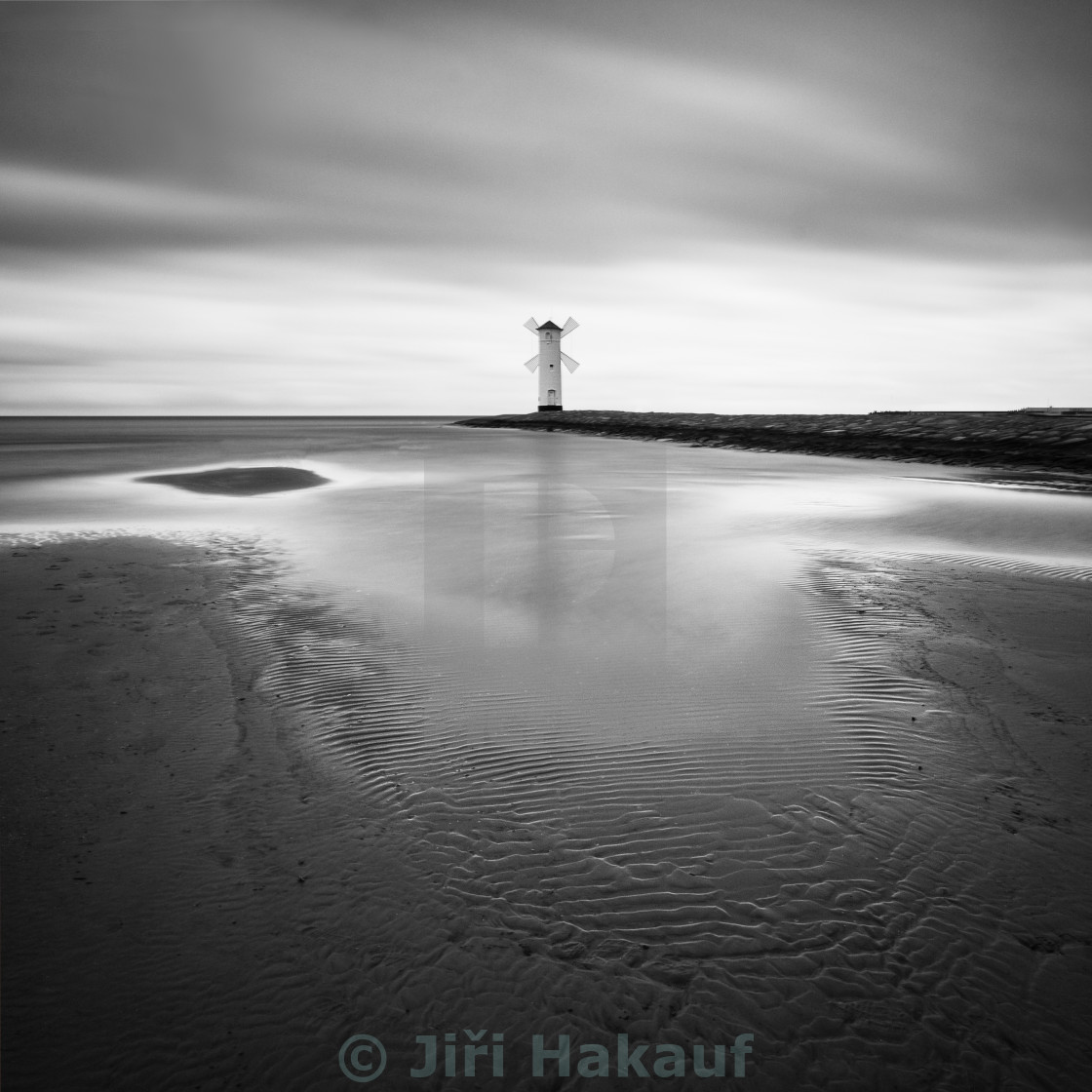 """Baltic coast - Lighthouse III"" stock image"