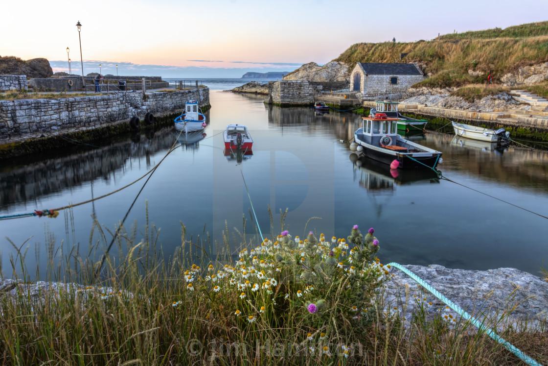 """Ballintoy harbour,Northern Ireland"" stock image"