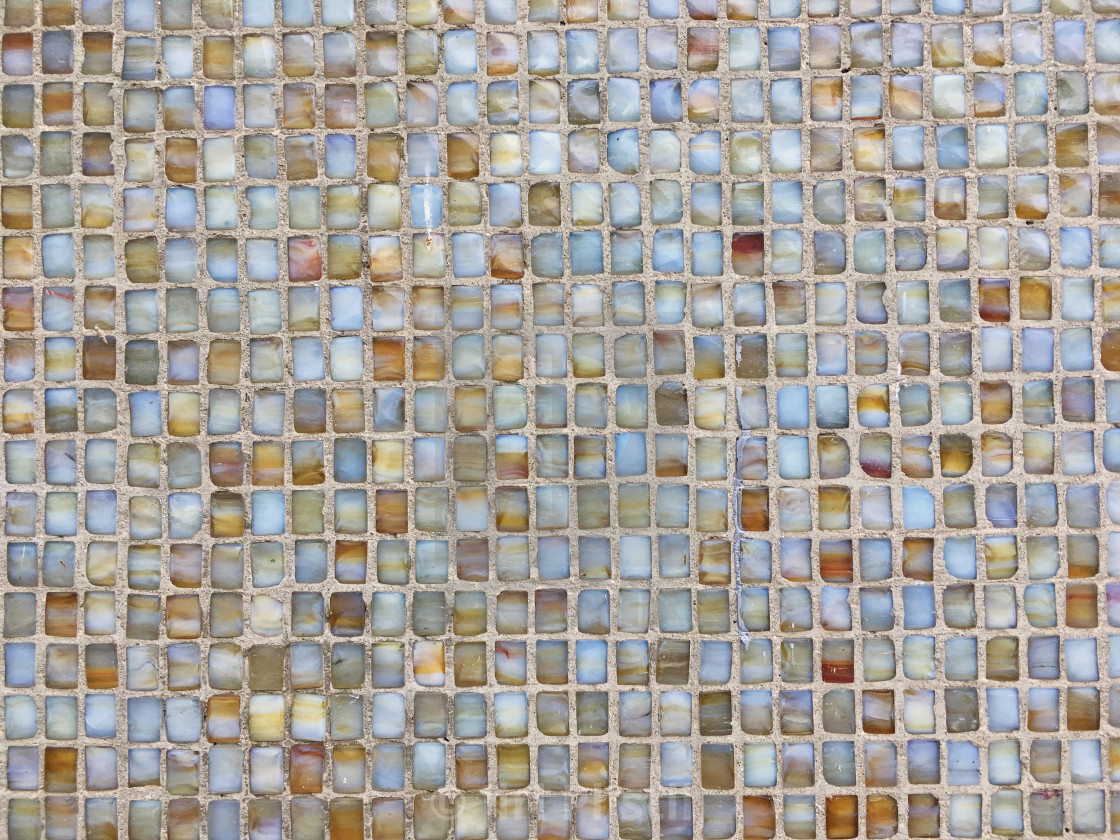 """""""Colored tiled wall background. Mosaic seamless pattern"""" stock image"""